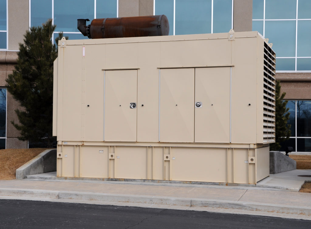 Back up power supply for key industries