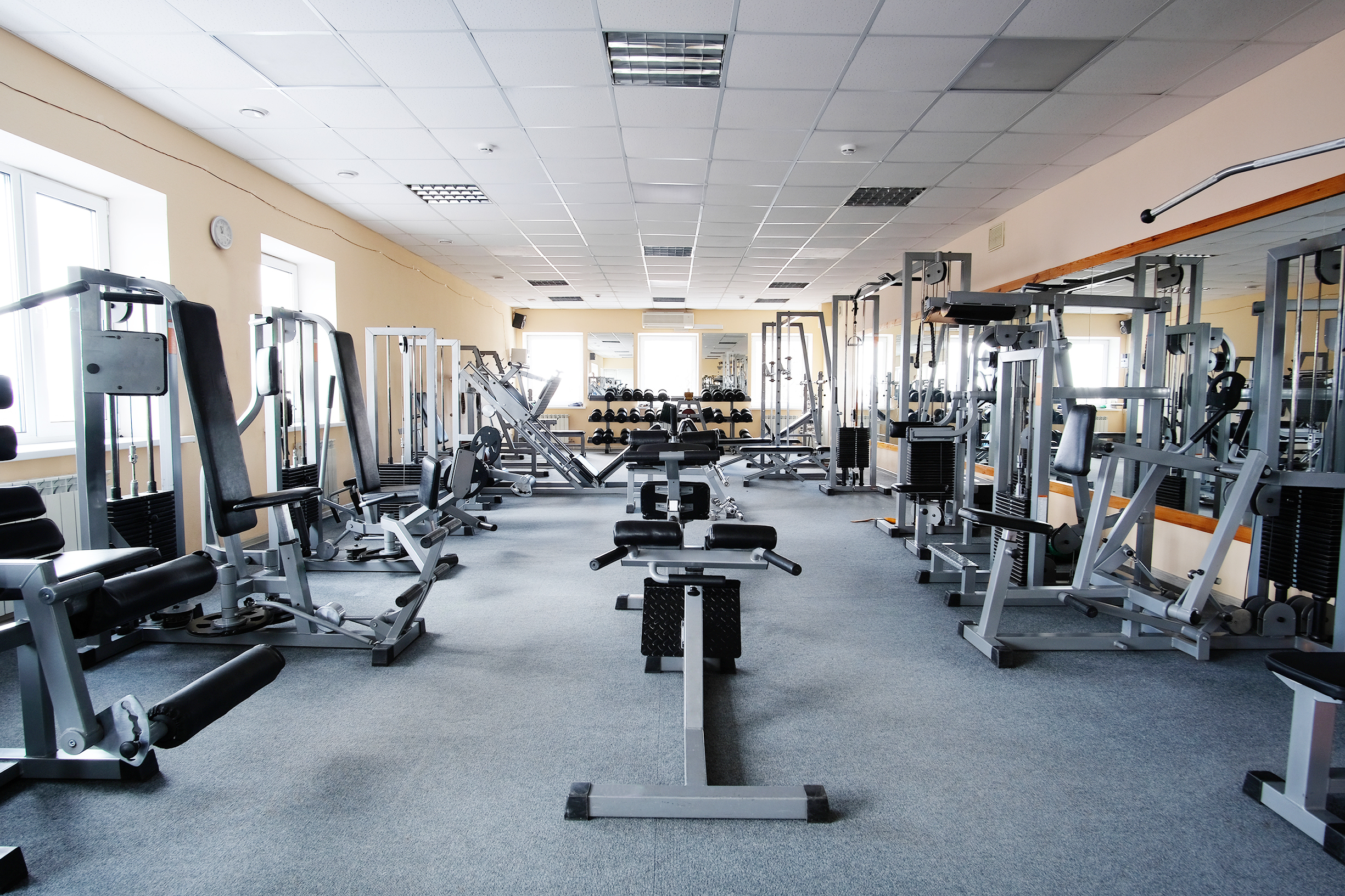 Leisure activities such as gyms can be noisy