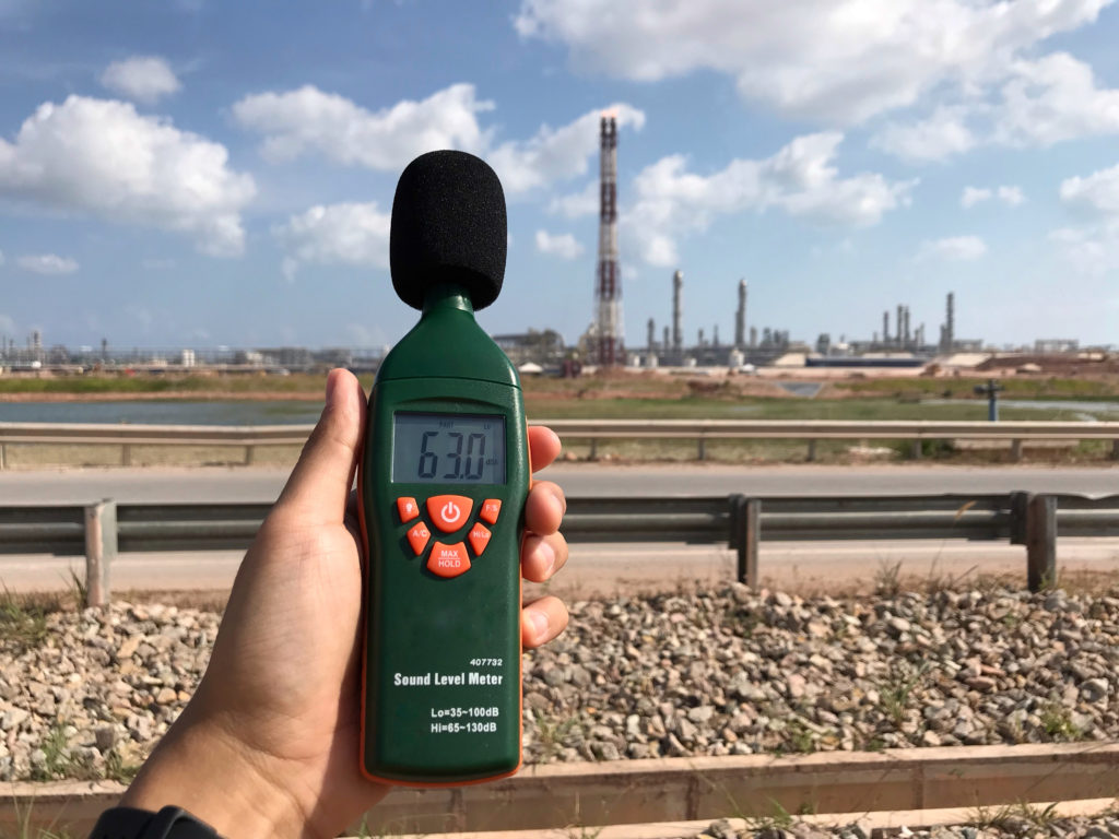 Measuring environmental noise levels