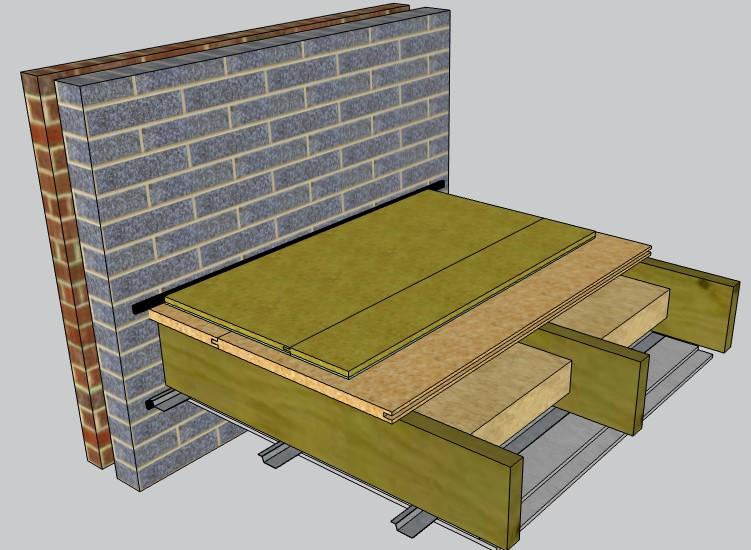 Overlay acoustic floor
