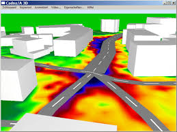 Graphic view from CADNA A software